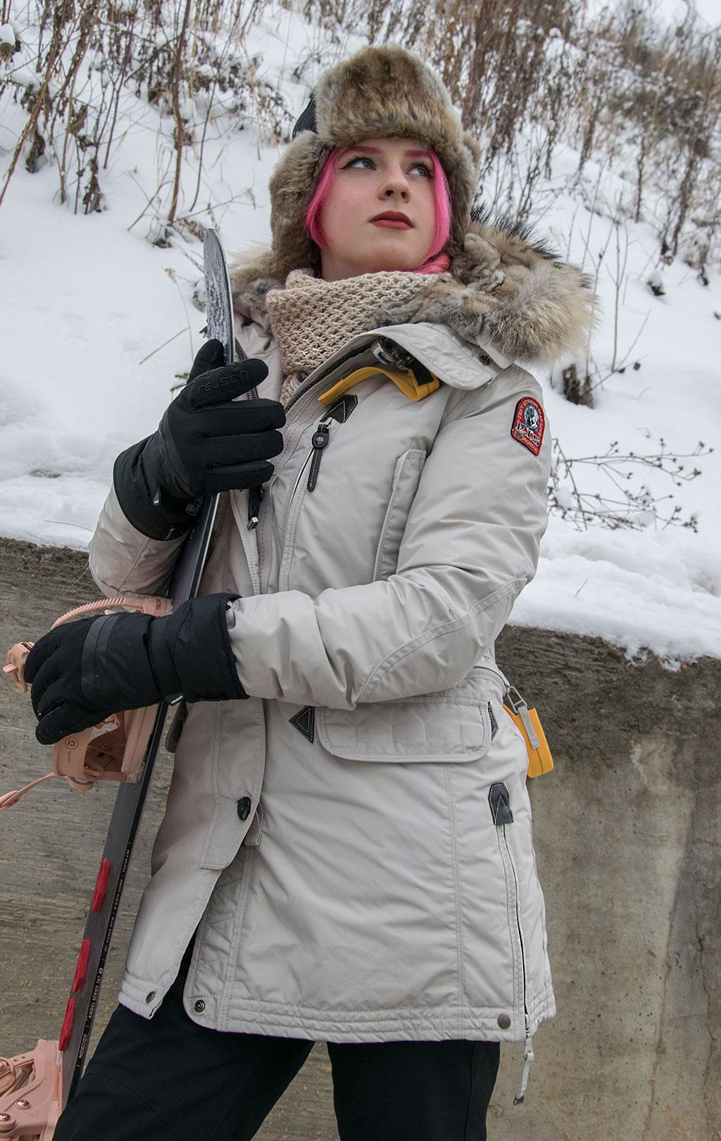 Женская аляска-пуховик PARAJUMPERS KODIAK silver, купить в Интернет-магазине ForceAge.