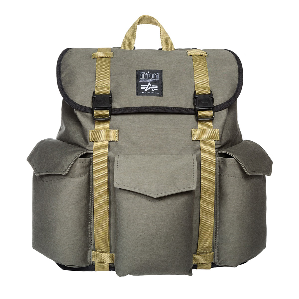 Рюкзак ALPHA INDUSTRIES JUNGLE BACKPACK olive