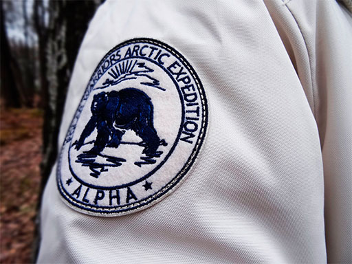 Аляска мужская ALPHA INDUSTRIES POLAR WHITE OFF