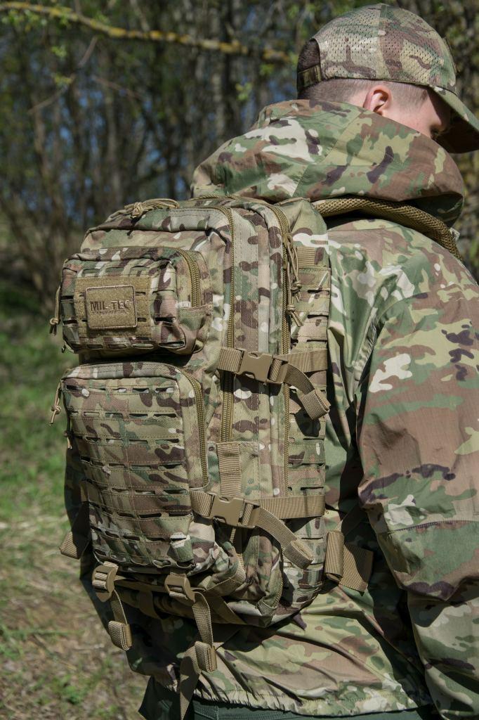 Фастексы тактического рюкзака Mil tec