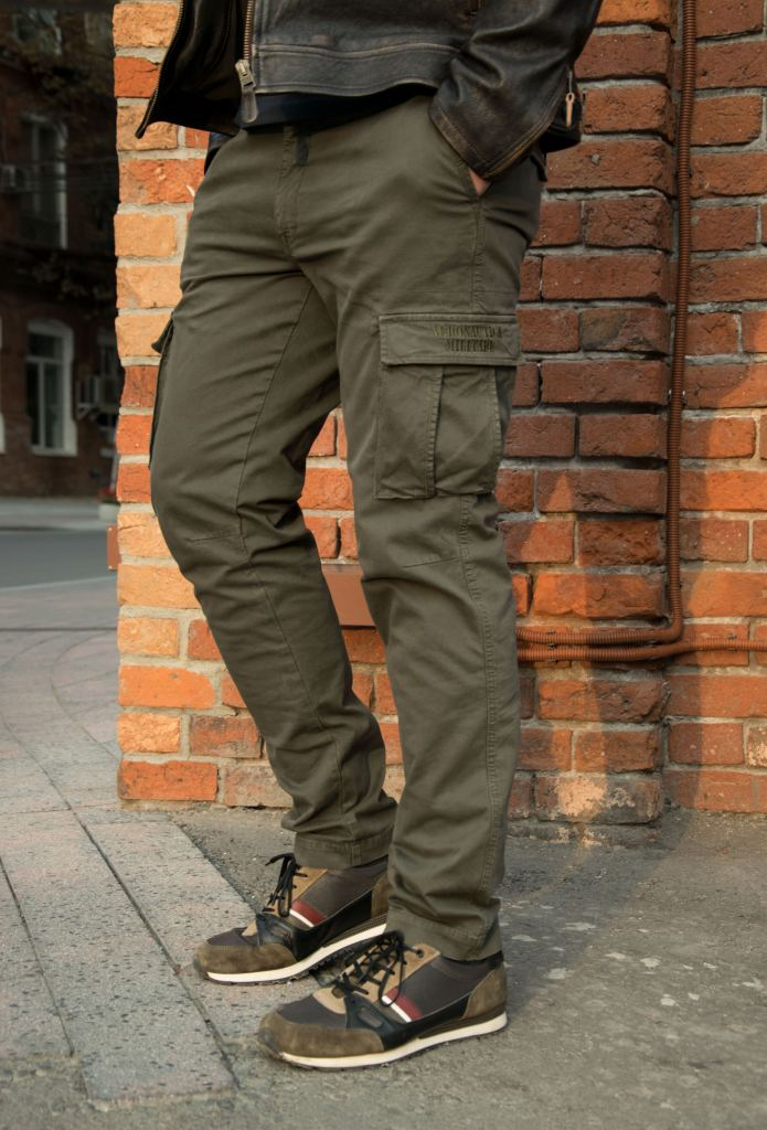 Эластичная плотная ткань брюк Аэронавтика Милитаре