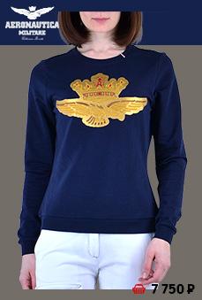 Толстовка AER. MILITARE жен. blue navy (FE 1260) - 7 750 руб.