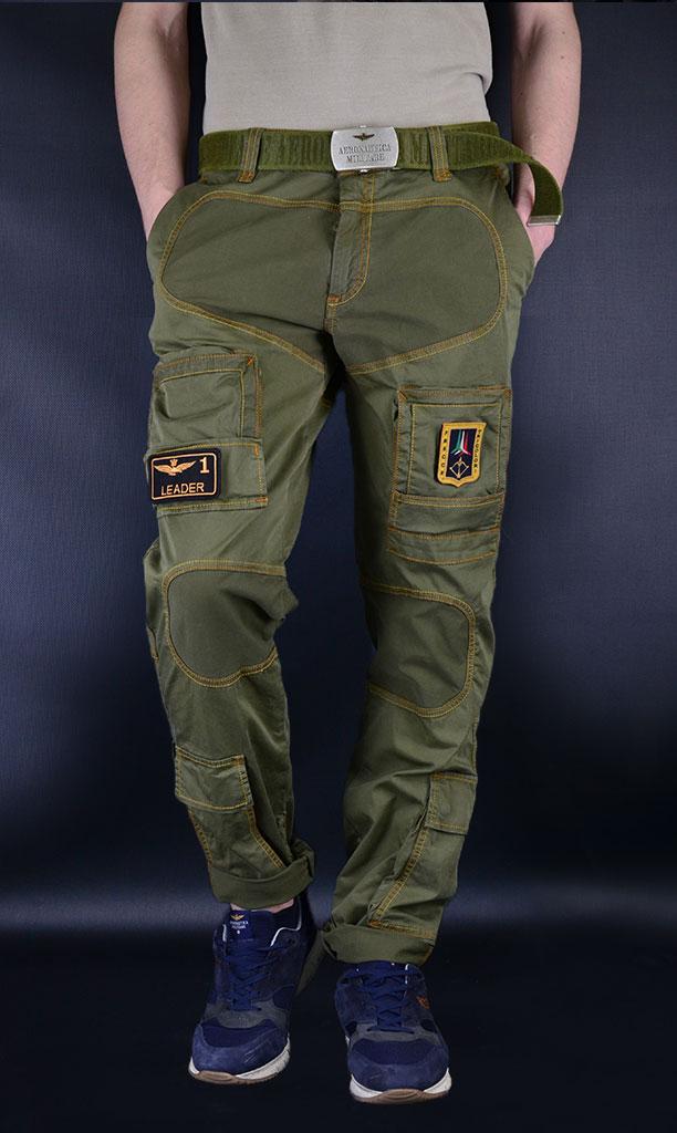 373fad2c брюки Аэронавтика Милитари мужские, брюки карго с нашивками, ремень  Аэронавтика