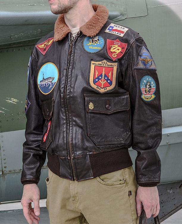 bdef3e400b1 Мужская кожаная летная куртка COCKPIT USA MOVIE HEROES G-1