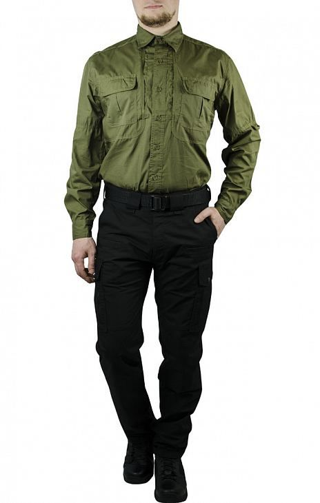 Рубашка Pentagon TACTICAL SHIRT хлопок35%/полиэстр65% olive 02010