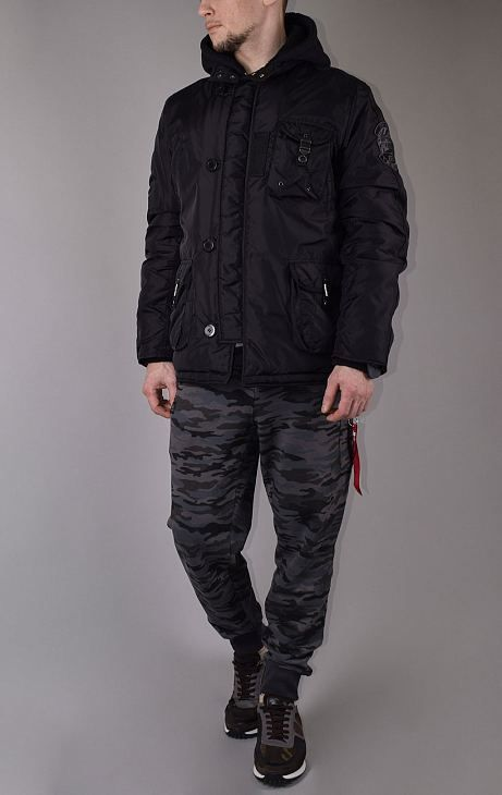Куртка ALPHA INDUSTRIES COBBS-II black